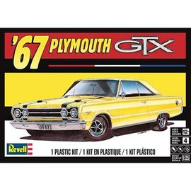 REVELL USA RMX 854481 PLYMOUTH GTX '67 model kit 1/25