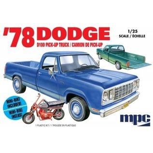MPC MPC 901 1/25 1978 Dodge D100 Custom Pickup 2T