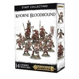 GAMES WORKSHOP WAR 99120201061 START COLLECTING KHORNE BLOODBOUND