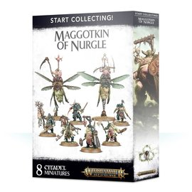 GAMES WORKSHOP WAR 99120201079 START COLLECTING MAGGOTKIN OF NURGLE