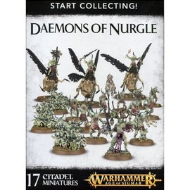 GAMES WORKSHOP WAR 99129915042 START COLLECTING DAEMONS OF NURGLE