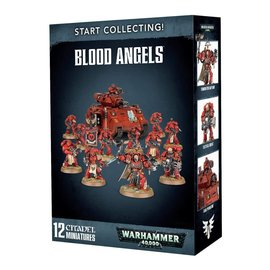 GAMES WORKSHOP WAR 99120101194 START COLLECTING BLOOD ANGELS