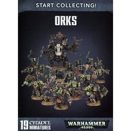 GAMES WORKSHOP WAR 99120103048 START COLLECTING ORKS
