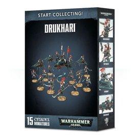 GAMES WORKSHOP WAR 99120112036 START COLLECTING DRUKHARI