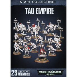 GAMES WORKSHOP WAR 99120113055 START COLLECTING TAU EMPIRE