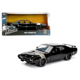 JADA TOYS JAD 98292 FAST AND FURIOUS DOMS PLYMOUTH GTX 1/24