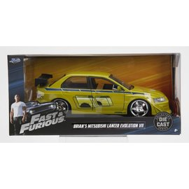 JADA TOYS JAD 99788 FAST AND FURIOUS BRIANS MISTU LANCER 1/24