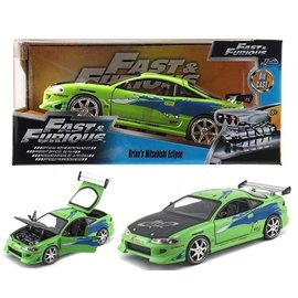 JADA TOYS JAD 97603 FAST AND FURIOUS ECLIPSE 1/24 DIECAST