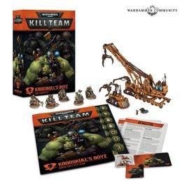 GAMES WORKSHOP WAR 60120603001 KILL TEAM KROGSKULL'S BOYZ