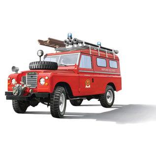 ITALERI ITA 3660 Land Rover FIRETRUCK 1/24
