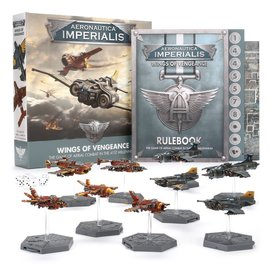 GAMES WORKSHOP WAR 60011899001 AERONAUTICA IMPERIALIS WINGS OF VENGEANCE