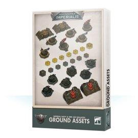 GAMES WORKSHOP WAR 99221899001 AERONAUTICA IMPERIALIS IMPERIAL NAVY & ORK AIR WAAAGH! GROUND ASSETS