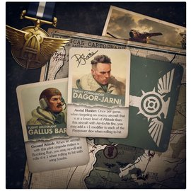 GAMES WORKSHOP WAR 60221808001 AERONAUTICA IMPERIALIS IMPERIAL NAVY CARDS