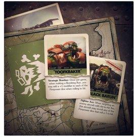 GAMES WORKSHOP WAR 60221803001 AERONAUTICA IMPERIALIS ORK AIR WAAAGH! CARDS