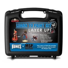 REAPER REA 08907 LAYER UP PAINT SET WITH CASE