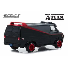GREENLIGHT COLLECTABLES GLC 84072 A TEAM VAN 1/24 DIECAST