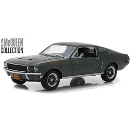 GREENLIGHT COLLECTABLES GLC 84043 STEVE MCQUEEN UNRESTORED 1/24 DIECAST