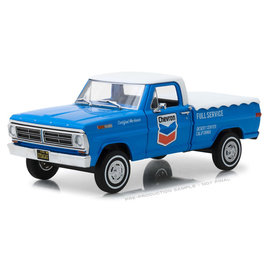 GREENLIGHT COLLECTABLES GLC 85013 FORD F100 CHEVRON 1/24 DIECAST