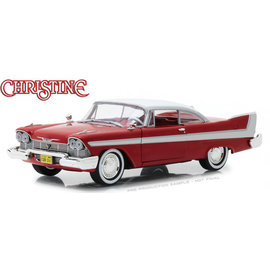 GREENLIGHT COLLECTABLES GLC 84071 1958 PLYMOUTH FURY CHRISTINE CLEAN 1/24 DIECAST