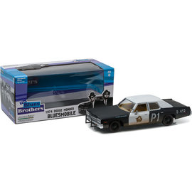 GREENLIGHT COLLECTABLES GLC 84011 BLUES BROTHERS BLUESMOBILE 1/24