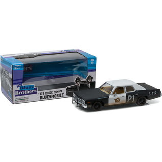 GREENLIGHT COLLECTABLES GLC 84011 BLUES BROTHERS BLUESMOBILE 1/24 DIE CAST