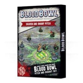 GAMES WORKSHOP WAR 99220999002 BLOOD BOWL SKAVEN / DWARF PITCH