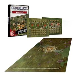GAMES WORKSHOP WAR 99220901005 BLOOD BOWL NURGLE PITCH