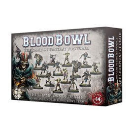 GAMES WORKSHOP WAR 99120907001 BLOOD BOWL THE CHAMPIONS OF DEATH TEAM