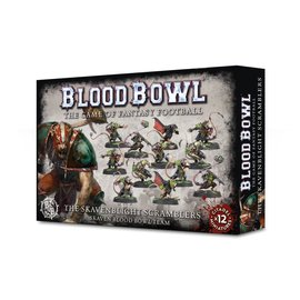 GAMES WORKSHOP WAR 99120906001 BLOOD BOWL  SKAVEN BLIGHT SCRAMBLERS