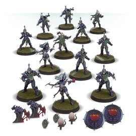 GAMES WORKSHOP WAR 99120912001 BLOOD BOWL THE NAGGAROTH NIGHTMARES DARK ELF TEAM