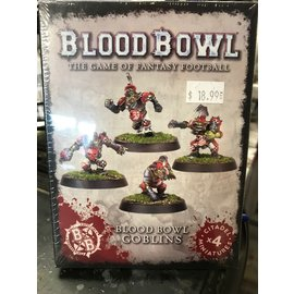 GAMES WORKSHOP WAR 99120909003 BLOOD BOWL GOBLINS