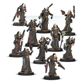 GAMES WORKSHOP WAR 99120599008 NECROMUNDA DELAQUE GANG