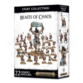 GAMES WORKSHOP WAR 99120216010 START COLLECTING BEASTS OF CHAOS