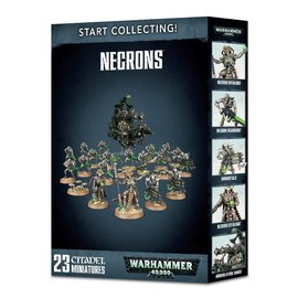 GAMES WORKSHOP WAR 99120110040 START COLLECTING NECRONS