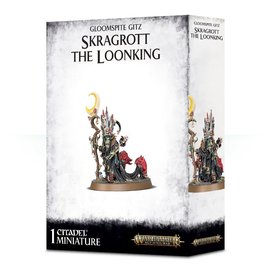 GAMES WORKSHOP WAR 99120209051 GLOOMSPITE GITZ SKRAGROTT THE LOONKING