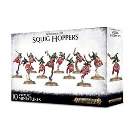 GAMES WORKSHOP WAR 99120209052 AOS GLOOMSPITE GITZ SQUIG HOPPERS