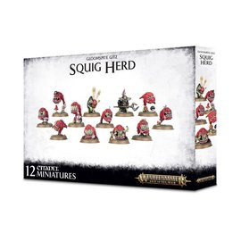 GAMES WORKSHOP WAR 99120209047 AOS GLOOMSPITE GITZ SQUIG HERD