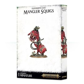 GAMES WORKSHOP WAR 99120209050 GLOOMSPITE GITZ MANGLER SQUIGS