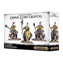 GAMES WORKSHOP WAR 99120209031 IRONJAWZ ORK GOREGRUNTAS