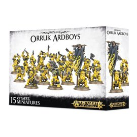 GAMES WORKSHOP WAR 99120209033 IRONJAWZ ORK ARDBOYZ