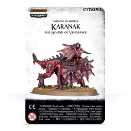 GAMES WORKSHOP WAR 99079915006 AOS DAEMONS OF KHORNE KARANAK THE HOUND OF VENGEANCE