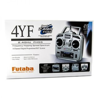 FUTABA FUT 01004361-3 4YF 2.4 RADIO SET