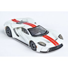 AFX AFX 22021 Ford GT White/Red slot car