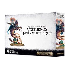 GAMES WORKSHOP WAR 99120219004 IDONETH DEEPKIN VOLTURNOS HIGH KING OF THE DEEP