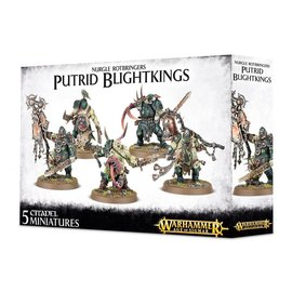 GAMES WORKSHOP WAR 99120201041 NURGLE ROTBRINGERS PUTRID BLIGHTKINGS