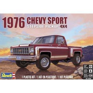REVELL USA RMX 854486  1976 CHEVY SPORT PICKUPUP 1/25 SCALE