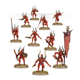 GAMES WORKSHOP WAR 99129915049 DAEMONS OF KHORNE BLOODLETTERS 40K WAR
