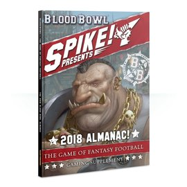GAMES WORKSHOP WAR 60040999008 BLOOD BOWL 2018 ALMANAC
