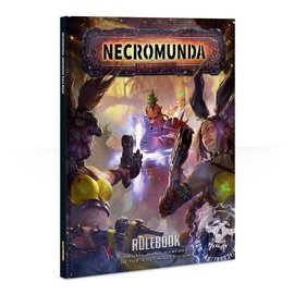 GAMES WORKSHOP WAR 60040599017 NECROMUNDA RULEBOOK