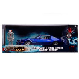 JADA TOYS JAD 31118 PENNYWISE WITH 77 FIREBIRD DIECAST 1/24